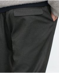 Zara | Gray Cropped Trousers for Men | Lyst