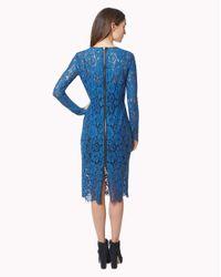 Veronica Beard - Blue Knee-length Dress - Lyst