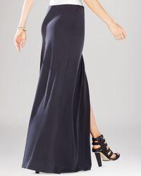BCBGMAXAZRIA | Black Andreea Draped Wrap Skirt | Lyst