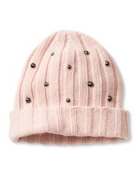 Banana Republic | Pink Studded Beanie | Lyst