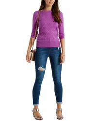 Oasis | Pink The Textured Knit | Lyst