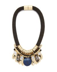 Holst + Lee | Multicolor Singapore Stone Necklace | Lyst