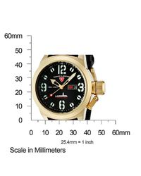 Swiss Legend | Submersible Black Silicone And Dial Gold-Tone Case for Men | Lyst