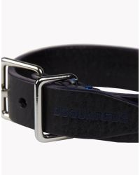 DSquared² | Black Contrast Armlet for Men | Lyst