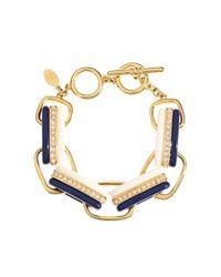 Brooks Brothers | Blue Link Bracelet | Lyst