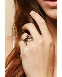 Forever 21 - Metallic Amber Sceats The Bull Ring - Lyst