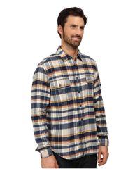 Lacoste | Blue Plaid Sportshirt for Men | Lyst