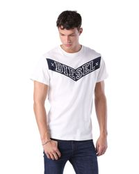 DIESEL - White T-joe-ag for Men - Lyst