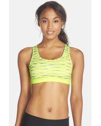 Nike | Yellow 'pro Classic' Dri-fit Sports Bra | Lyst