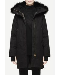 Rag & Bone | Black Coldweather Parka | Lyst