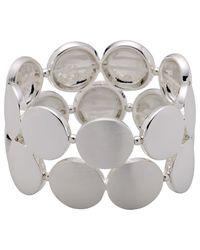 Pilgrim - Metallic Bracelet Silver Colour - Lyst