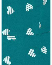 Sugarhill - Green Heart Print Shift Dress - Lyst