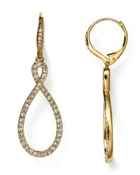 Nadri - Metallic Pavé Drop Earrings - Lyst
