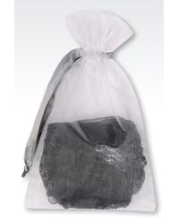 Emporio Armani   Black Thong   Lyst