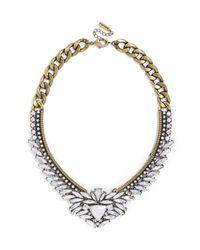BaubleBar - Metallic Crystal Trillion Collar - Lyst