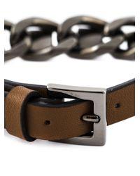 Valentino | Brown 'rockstud' Bracelet | Lyst