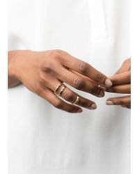 & Other Stories | Metallic Looped Brass Ring | Lyst