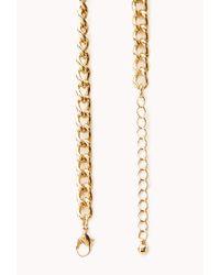 Forever 21 - Blue Boho Beauty Beaded Necklace - Lyst