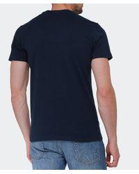 La Martina | Blue Logo T-shirt for Men | Lyst