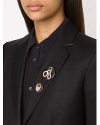 Hyein Seo - Black Printed Badge Set - Lyst
