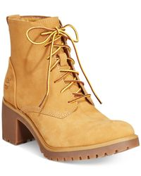 Timberland - Natural Women's Averly Booties - Lyst