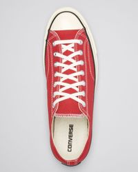 Converse - Red Chuck Taylor All Star '70 Low Top Sneakers for Men - Lyst