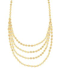Lana Jewelry | Metallic 14k Elite Mega Disc Triple-strand Necklace | Lyst