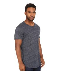 Alternative Apparel | Blue Eco Space Dye Jersey Journeyman T-shirt for Men | Lyst
