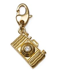 kate spade new york | Metallic Camera Charm | Lyst