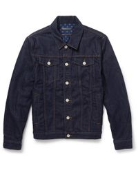 Marc By Marc Jacobs - Blue Denim Jacket for Men - Lyst