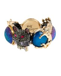 Betsey Johnson | Blue Dark Shadows Critter Stretch Bracelet | Lyst