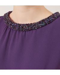 Hobbs | Purple Alwena Dress | Lyst