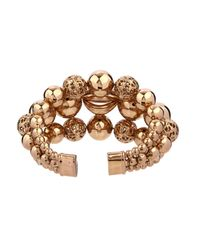 Etro | Metallic Sphere-Shaped Brass Cuff | Lyst