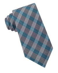 Calvin Klein | Gray Glenn Plaid Tie for Men | Lyst