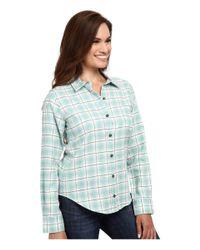 Pendleton - Blue Felicia Flannel Shirt - Lyst
