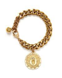 Lulu Frost | Metallic Victorian Plaza Bracelet #0 | Lyst