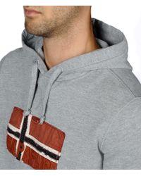 Napapijri | Gray Sweatshirt for Men | Lyst