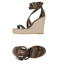 Juicy Couture - Natural Espadrilles - Lyst