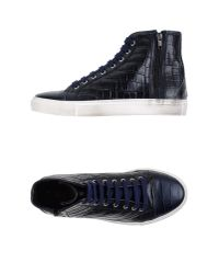 Kenneth Cole Reaction - Blue High-tops & Trainers for Men - Lyst