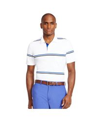Ralph Lauren - White Striped Polo Shirt for Men - Lyst