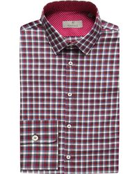 Canali | Purple Gingham Modern-fit Cotton Shirt for Men | Lyst