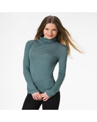 Petit Bateau | Green Women's Light Cotton Turtleneck | Lyst