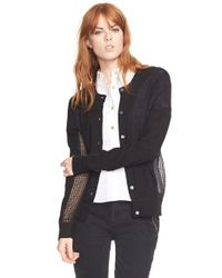 Marc By Marc Jacobs | Black 'holly' Cardigan Sweater | Lyst