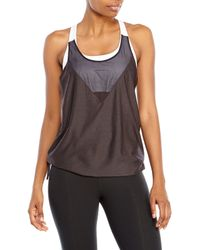 Under Armour - Black Studio Rave N Flow Tank - Lyst
