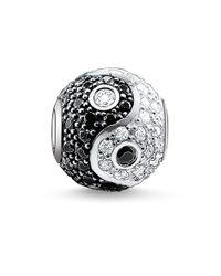 Thomas Sabo | Metallic Karma Bead Yin-yang, Pavé | Lyst