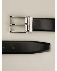 Dolce & Gabbana - Black Leather Belt for Men - Lyst