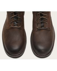Frye | Brown Freemont Lace Up for Men | Lyst