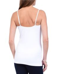 Lyssé | White Cotton Cami Top | Lyst
