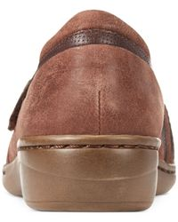 Clarks | Brown Collection Women's Evianna Crown Flats | Lyst