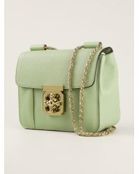 Chloé | Green 'Elsie' Shoulder Bag | Lyst